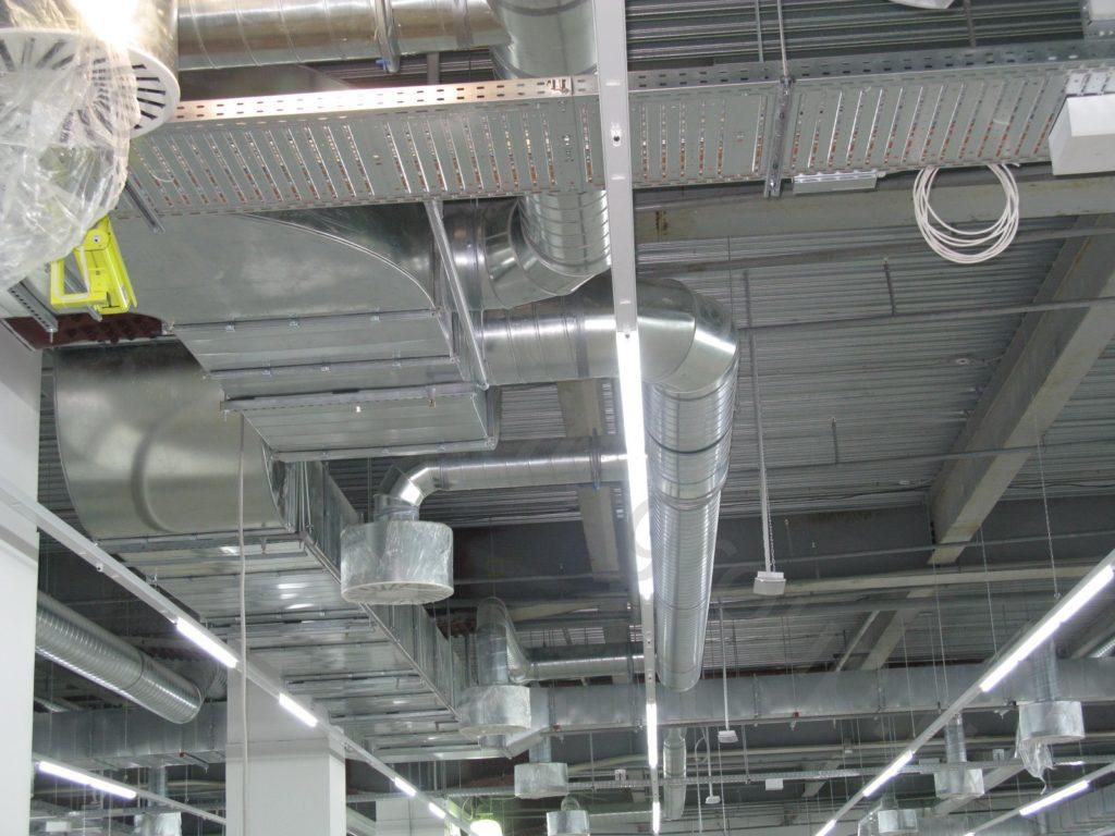 Монтаж вентиляции в Уфе
